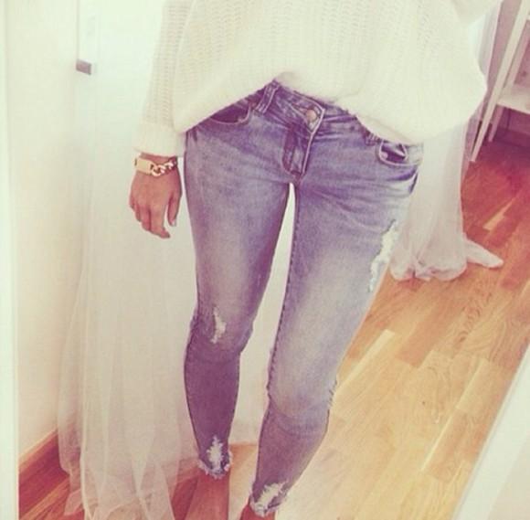 jeans pullover bracelets