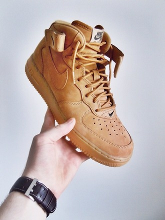 nike air nike sneakers brown shoes mens shoes mens sneakers