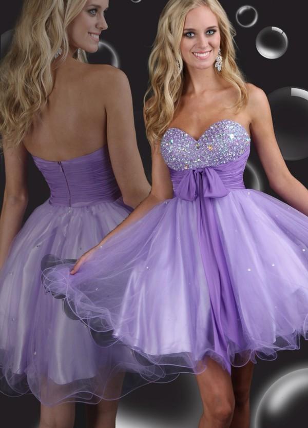 sparkle homecoming dress purple dress