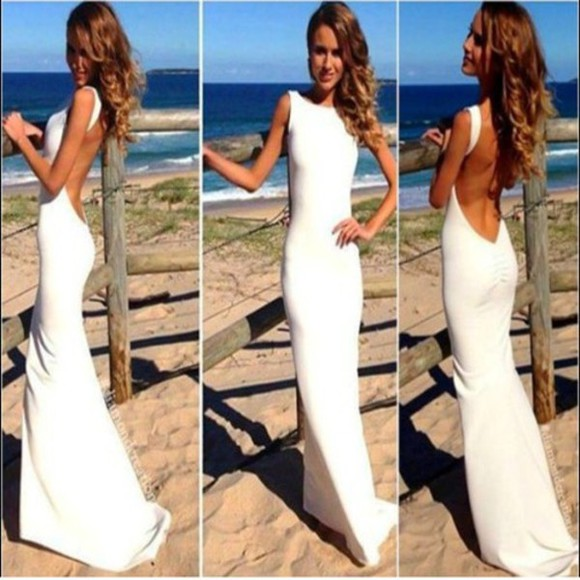 prom dress wedding dress sexy wedding dress backless wedding dresses mermaid wedding dresses beach wedding dress