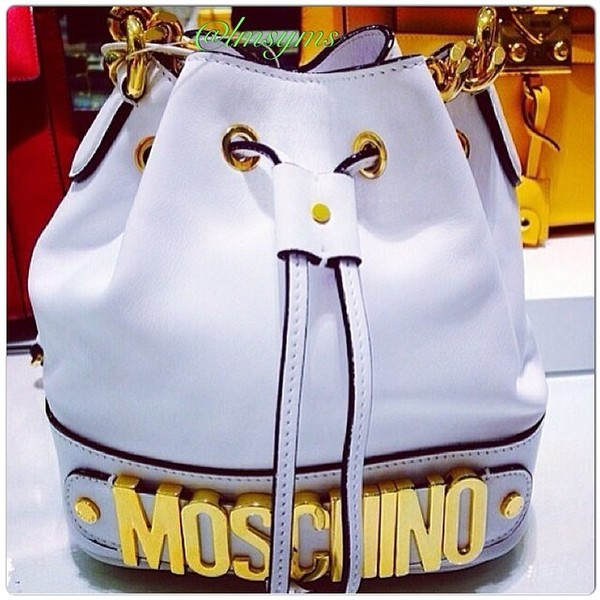 bag moschino bag black