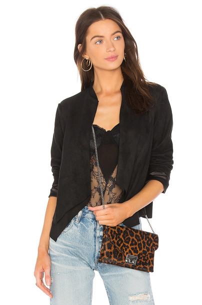 AIRLIE blazer suede black jacket