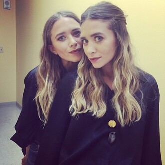 blouse mary kate olsen ashley olsen olsen sisters instagram