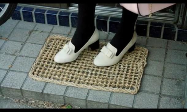 shoes venusangelic cute white cream heels