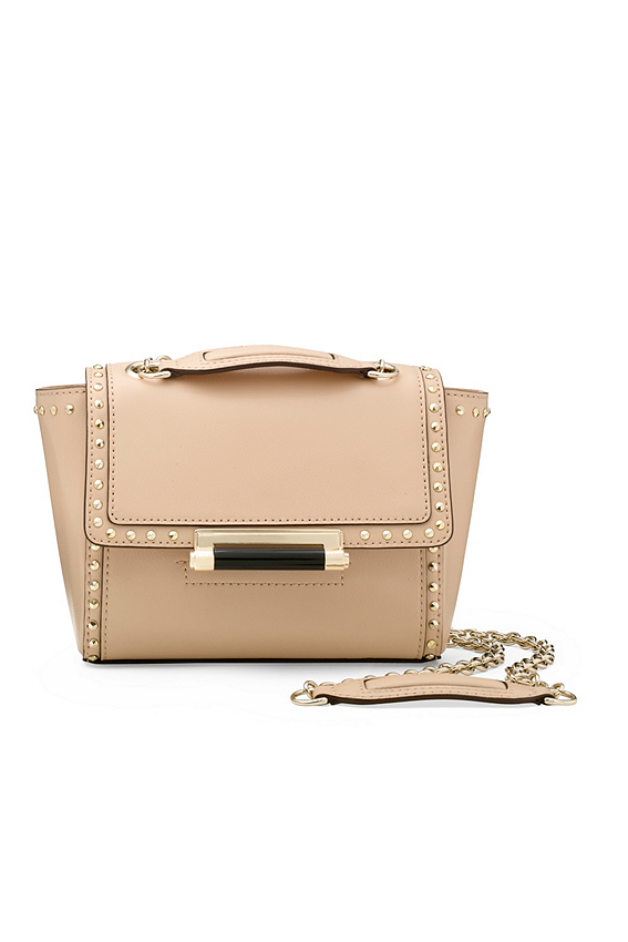 440 Mini Studded Leather Crossbody Bag
