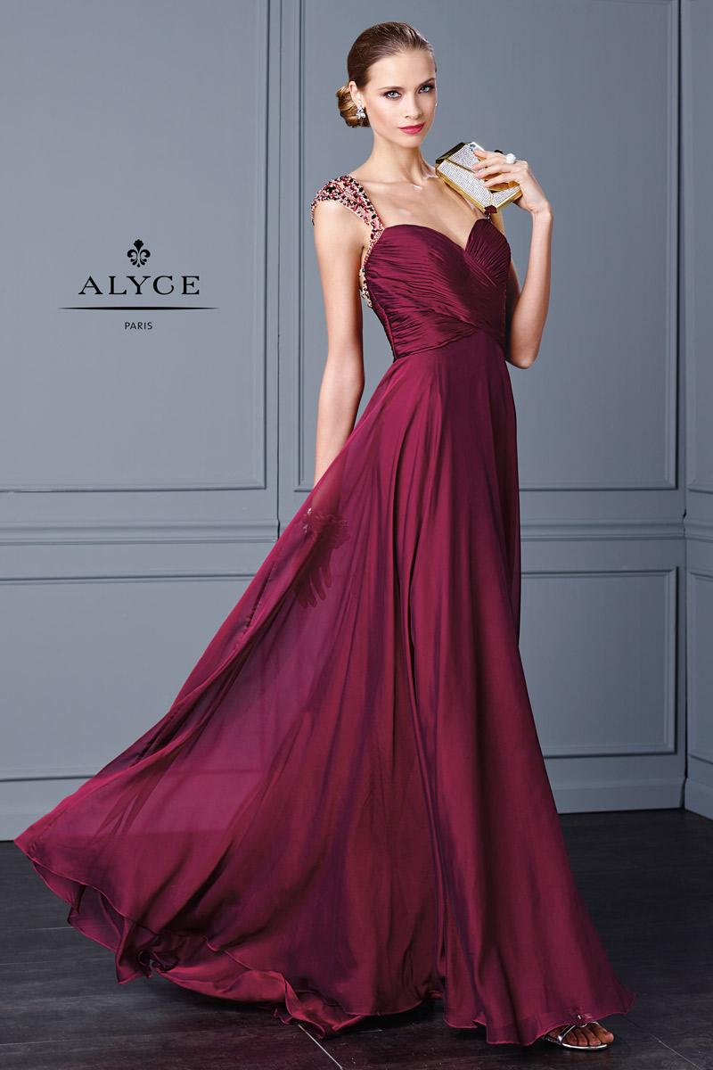 2016 Newest Burgundy Prom Dresses Long Beading Crystal Beaded See ...