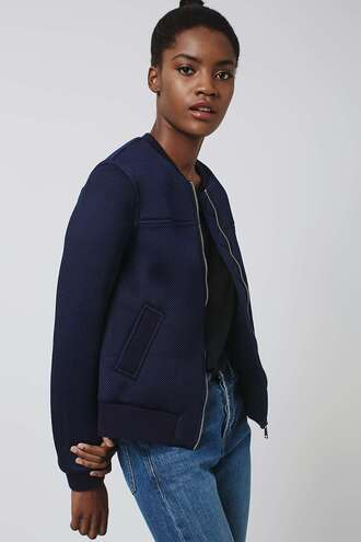 jacket navy bomber jacket