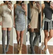 dress,summer dress,cute dress,sexy dress,bodycon dress,party dress,short dress,sexy party dresses,clubwear,outfit,summer outfits,cute outfits,date outfit,spring outfits,party outfits,long sleeves,long sleeve dress,clothes,fashion,style,stylish,boots,suede boots,thigh high boots,winter boots,knee high boots,shoes,sneakers,white sneakers,sexy shoes,cute high heels,cute shoes,summer shoes,heels,high heels,5 inch and up,sweater dress,necklace,gold necklace,accessories,jewelry