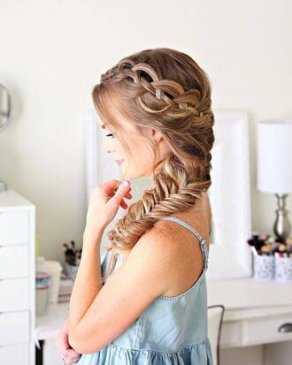 top tumblr hair hairstyles braided brunette long hair