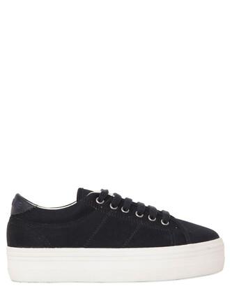 sneakers platform sneakers navy shoes