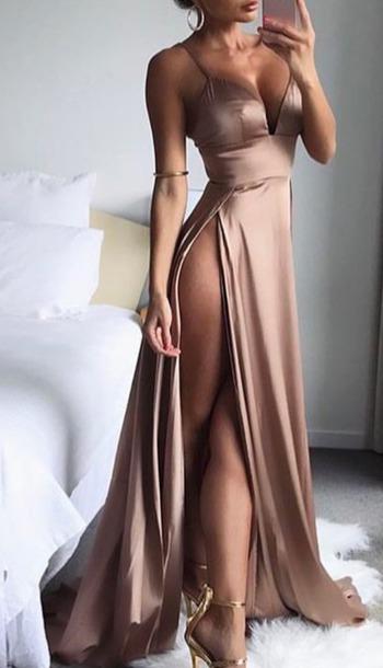dress satin dress satin silk dress silk