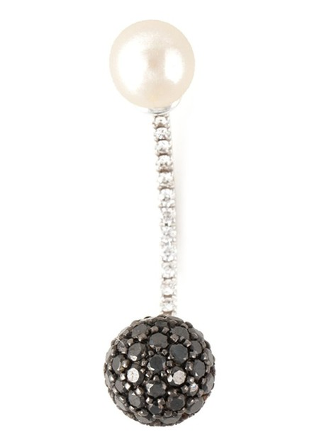Delfina Delettrez women ball gold grey metallic jewels