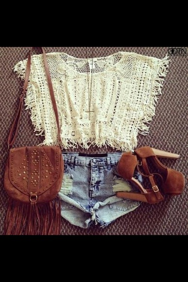 blouse white lace top white crop tops lace up lace crop top