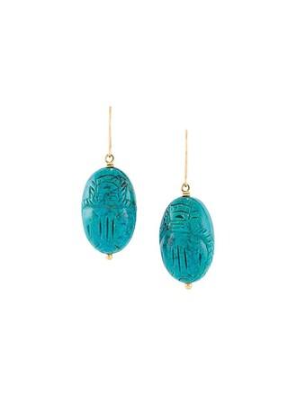 earrings turquoise blue jewels