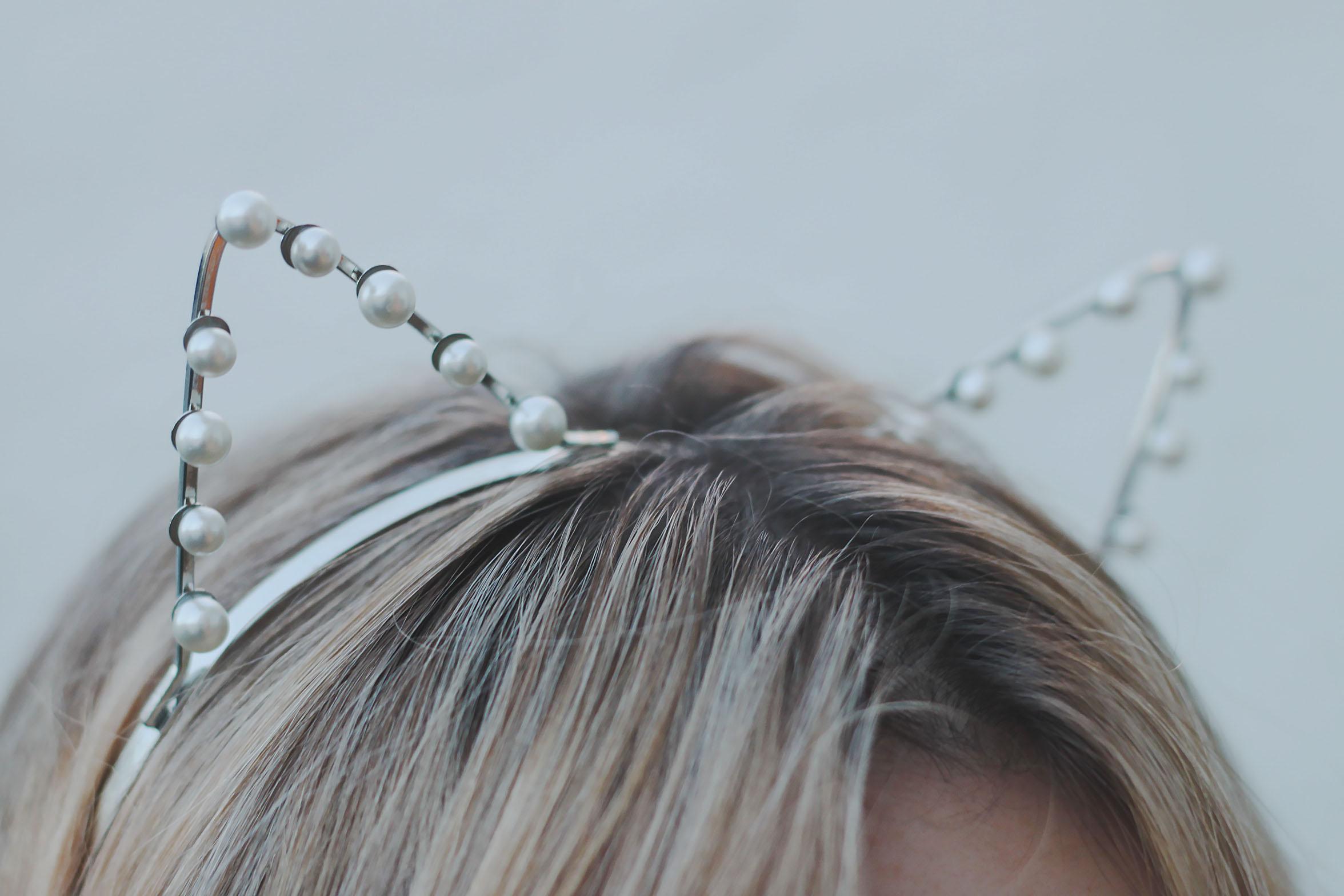 Pearl cat ear headband · ha