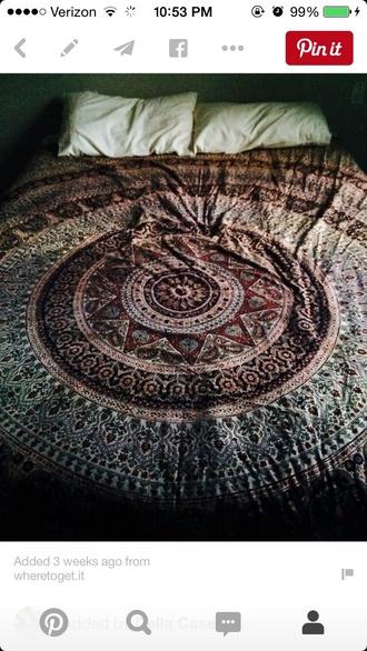 home accessory bedding boho hippie