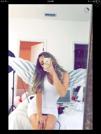 dress wings costume angel wings white casual dope jeans shirt shoes nike jordans