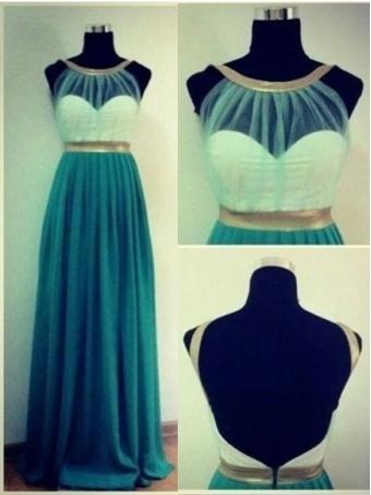 Surprising green sweetheart simple prom dress [E0056] - $168.99 : 24inshop