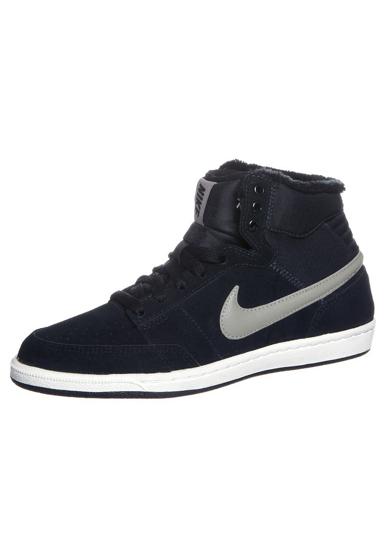 Nike Sportswear DOUBLE TEAM LITE - High-top trainers - black - Zalando.co.uk