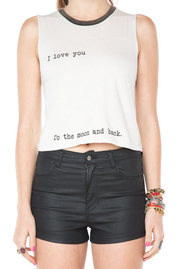 I Love You To The Moon and Back Tank on Wanelo