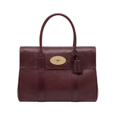 Bayswater in Oxblood Natural Leather | Women's Bags | Mulberry