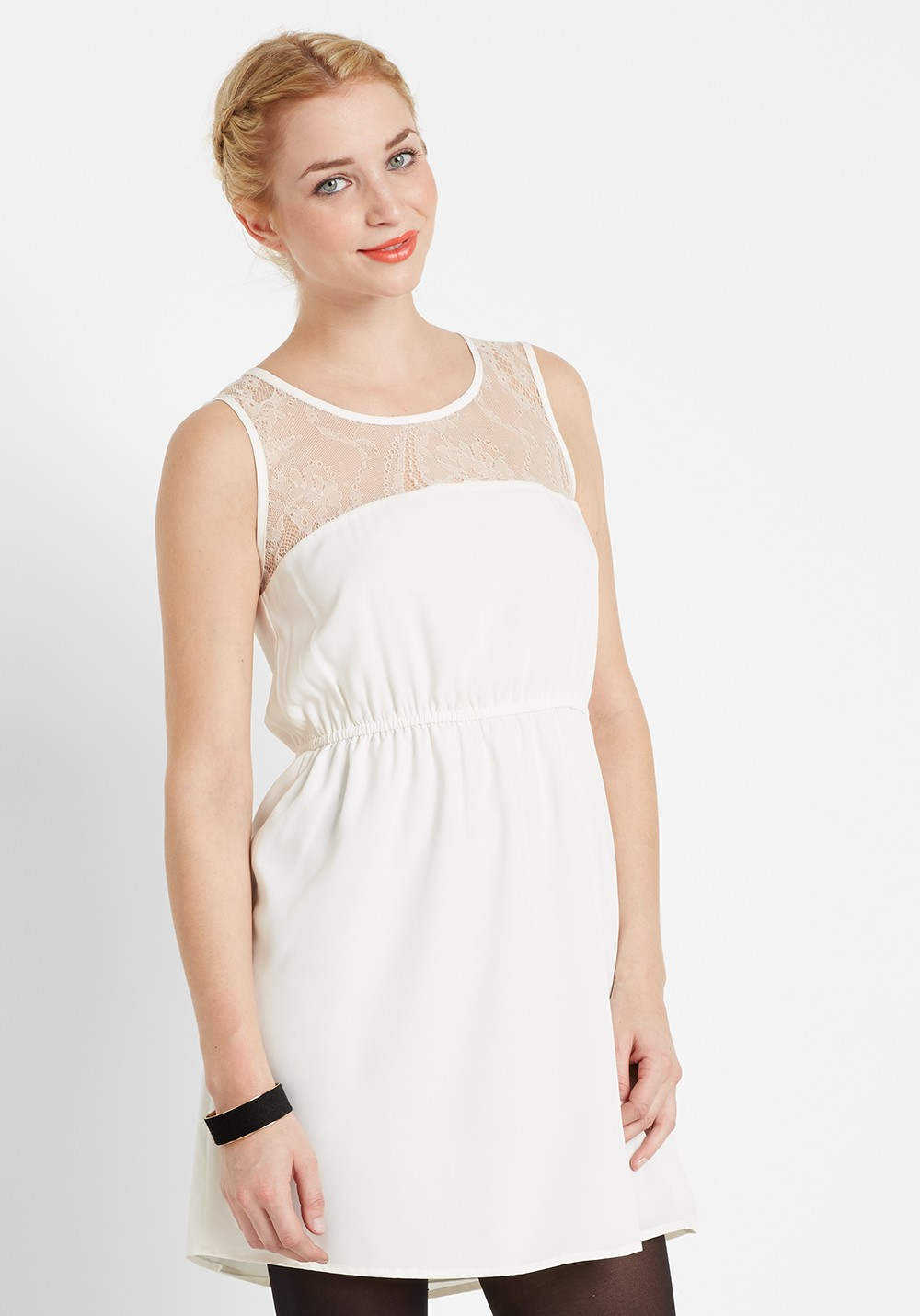 RUT & CIRCLE Price Aline Lace Dress Rut & Circle | frontlineshop.com