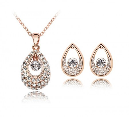 Alloy Fashion Jewelry Sets made with Swarovski Elements S-2063 | Soriano Bahrain