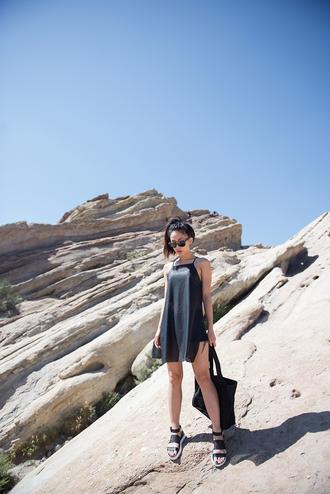 neon blush blogger dress shoes sunglasses jeans shorts