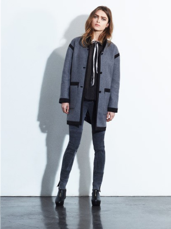 coat fashion lookbook claudie pierlot pants