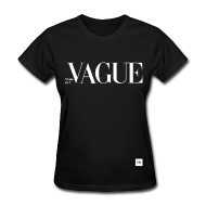 Vague : Women's Black T-Shirt | DUSTRIAL STREETWEAR