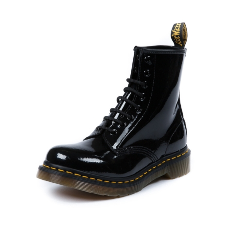 Womens Dr. Martens 8-Eye Boot, Black Patent, at Journeys Shoes