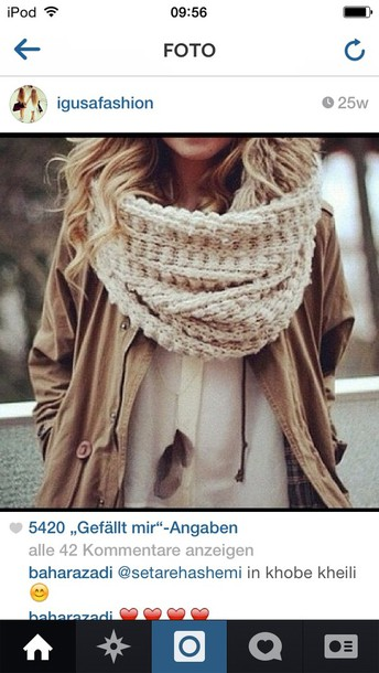 jacket skarf