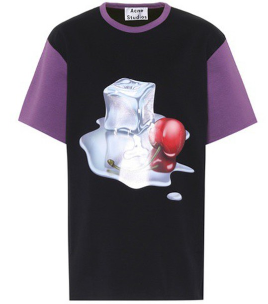 Acne Studios t-shirt shirt cotton t-shirt t-shirt cotton top