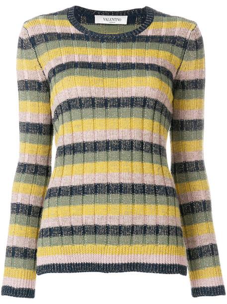 jumper metallic women wool knit sweater