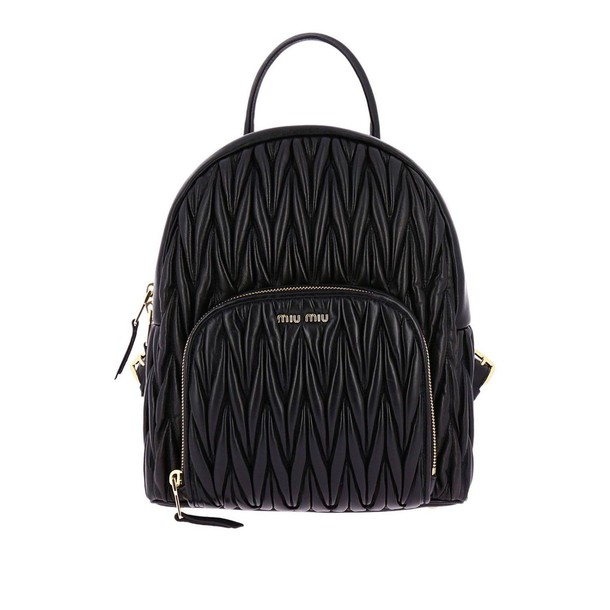 Miu Miu women bag backpack shoulder bag black