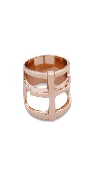 cross rose gold rose ring gold jewels