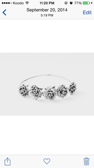 hair accessories roses hair accessory hipster wedding