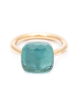 ring blue green jewels