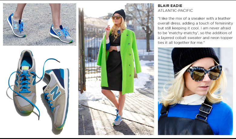 Shoes new balance complete the look at bergdorf goodman