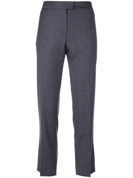 PS By Paul Smith cropped women wool grey pants
