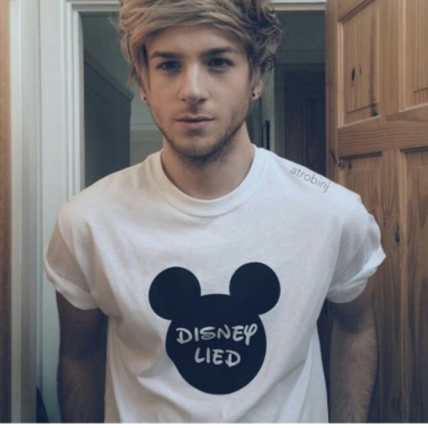 t-shirt blanc disney disney mickey mouse lied disney lied mens t-shirt