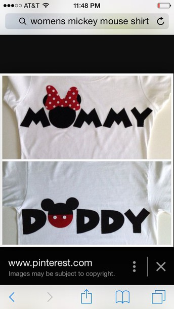 blouse white mommy mickey shirt