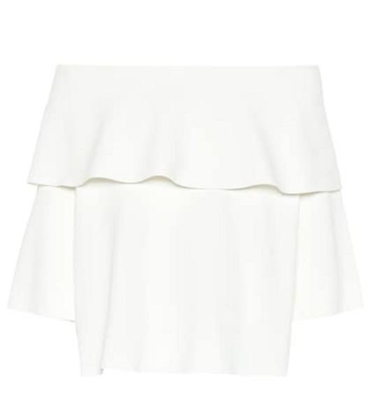 Stella McCartney Jersey top in white