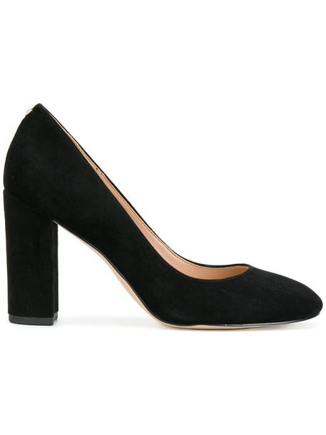 Sam Edelman women pumps suede black shoes