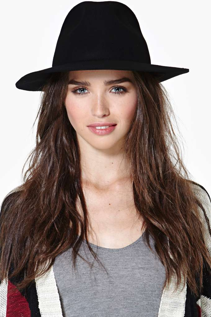 Lone Rider Wool Hat in  Accessories at Nasty Gal