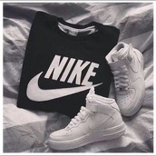 t-shirt,sweater,jacket,nike,sweatshirt,shoes,nike jumper,nike sweater,black,black jumper,hipster,fashion,clothes,crewneck,black and white,whitw,white,nike crewneck,guys,i love boys,casual,shirt,brands,cotton,hoodie,nike sportswear,white nike shoes,swag,just,do,outfit,nike air force 1 high,nike sneakers,nike air force 1,nike air,nikes,high top sneakers,black nike sweater,nike shirts,nike air force,bag,sportswear,trainers,style,jumper,cool,nikejumper,cardigan,white shirt,boots,classy,hot,winter sweater,winter outfits,sports shoes,nike running shoes,running shoes,nike free run,nike shoes,streetwear,streetstyle,black nike shirt,nike black hoddie,black hoddie,tumblr,hair accessory,hat,logo,black nike shir,nike shirt men