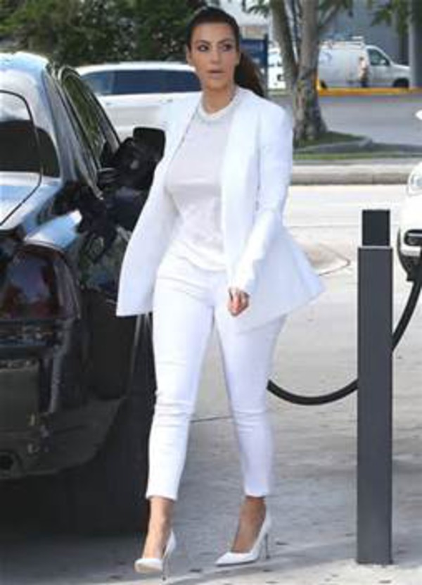 jeans kim kardashian shoes blouse