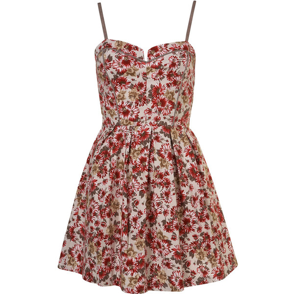 Floral Tie Back Dress by Wal G** - Polyvore