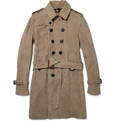 Burberry Prorsum - Suede Trench Coat | MR PORTER