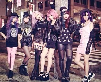 shoes pastel pastel goth black kawaii dark kawaii grunge grunge shoes leggings dress t-shirt shirt skirt platform shoes